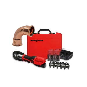Novopress ACO103 Bluetooth (Swivel Head) Press Tool with PB1 Jaws (for Copper Fittings)
